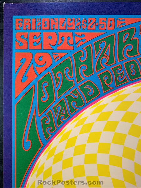 AUCTION - FD84 - Doors Capt. Beefheart Artist Signed 1967 Poster - Family Dog Denver - Condition - Excellent