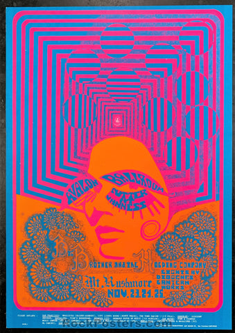 AUCTION - FD93 - Janis Joplin Big Brother 1967 Poster - Avalon Ballroom - Condition - Near Mint
