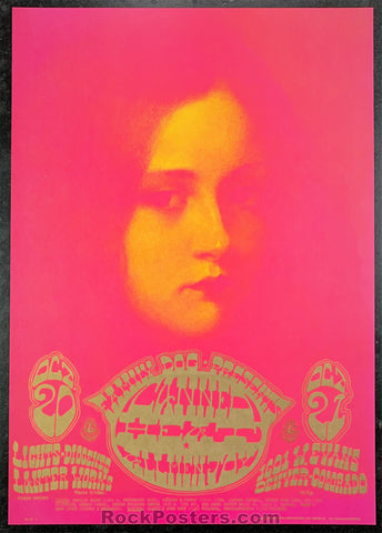 AUCTION - FDD7 - Canned Heat 2nd Print Poster - 1601 West Evans - Condition - Near Mint