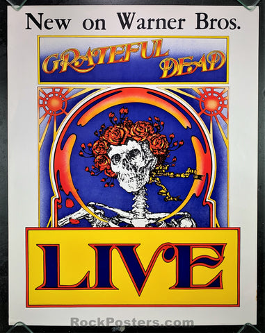 AUCTION - Grateful Dead - 1971 Album Promo  Poster - Condition - Very Good