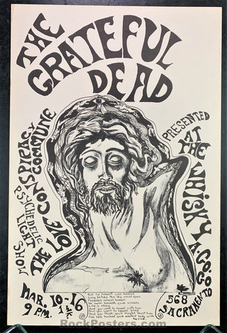 AUCTION - Grateful Dead  -  Original 1967 Poster - Whisky A Go-Go SF - Condition - Near Mint Minus
