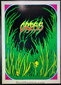AUCTION - Psychedelic - Greg Irons Grass 1967 - Head Shop Poster - Condition - Near Mint Minus