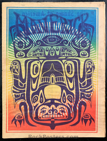 AUCTION - Psychedelic - Haight Ashbury Maverick Number Three - 1967 Underground  Newspaper - Excellent