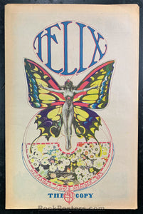 AUCTION - Psychedelic - The Helix Seattle Number 17 - 1967 Underground Newspaper - Near Mint Minus