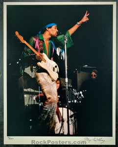AUCTION - Jimi Hendrix - 1968 Gene Anthony 5/200 Photograph  - Winterland - Condition - Near Mint