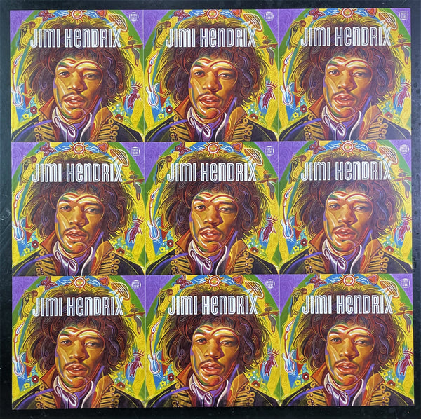 AUCTION - Jimi Hendrix - Music Icon Series Post Office - Two Sided Promo - 2014 Poster - Near Mint Minus
