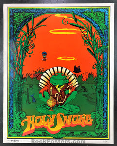 AUCTION - Holy Smoke - Bob Fried 1967 Original Head Shop Poster - Condition - Excellent