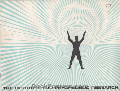 AUCTION - Drugs - The Institute for Psychedelic Research Brochure - San Francisco State - Excellent