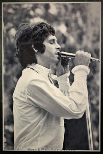 AOR-2.341 - Jim Morrison The Doors Live 1968 Concert Photo - Nor Cal Folk-Rock Fest - Near Mint