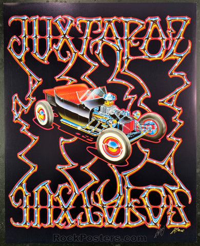 AUCTION - Alton Kelley Collection - Juxtapoz Magazine 2002 Poster - Kelley Signed - Condition - Near Mint Minus
