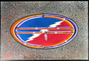 AUCTION - Grateful Dead - Alton Kelley Signed - 1993 Original Artwork - Near Mint