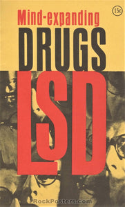 AUCTION - Drugs - Mind-Expanding Drugs LSD 1967 Booklet - Near Mint