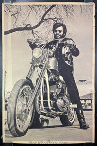 AUCTION - Hells Angels - (Lot of 3) - 1970 Biker Posters - Very Good