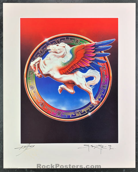 AUCTION - AOR4.278 - Steve Miller Kelley Mouse Double Signed Poster - Book of Dreams - Condition - Near Mint Minus