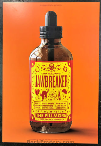 NF-1608 - Jawbreaker Poster - Fillmore Auditorium - Condition - Near Mint