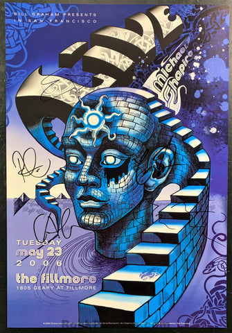 NF-778 - Live Signed - 2006 Poster - Fillmore Auditorium - Near Mint Minus