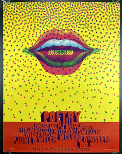 Neon Rose 24 (B-5) - Incredible Poetry - Nourse Auditorium - Condition - Very Good
