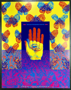 AUCTION - Neon Rose 26 - The San Francisco Poster 1966 Traveling Exhibit - Condition - Excellent