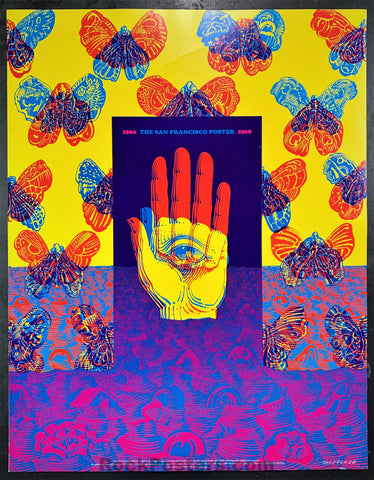AUCTION - Neon Rose #26 - American Federation of Artists - Moscoso 1968 Poster - Excellent