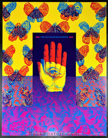AUCTION - Neon Rose 26 - The San Francisco Poster Original Moscoso Poster - Condition - Excellent