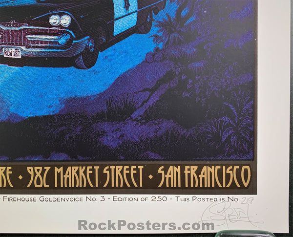 AUCTION - Chuck Sperry - Nick Cave & the Bad Seeds San Francisco '08 - 1st Edition Silkscreen - Condition - Near Mint