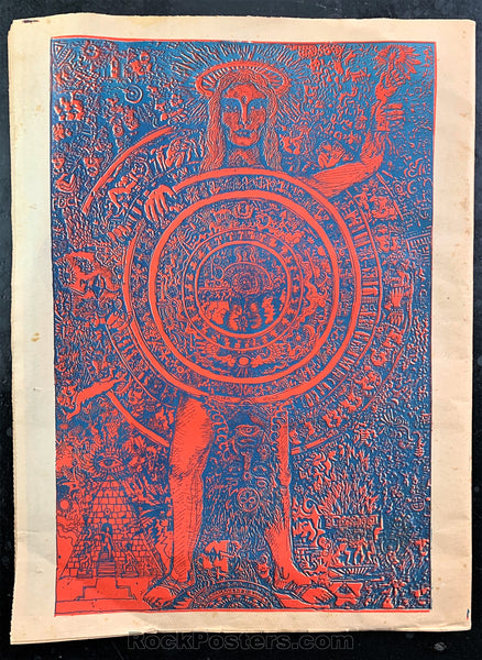 AUCTION - ORACLE #9 Psychedelic Newspaper August 1967 - San Francisco - Condition - Excellent