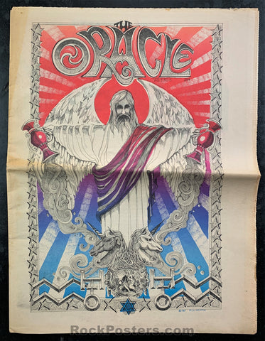 AUCTION - ORACLE #6 - Griffin Grimshaw 1967 Newspaper 2nd Edition - San Francisco - Condition - Excellent
