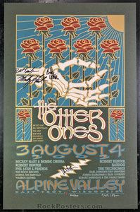 AUCTION - Grateful Dead - Other Ones Band Signed 2002 Silkscreen Poster - Condition - Near Mint