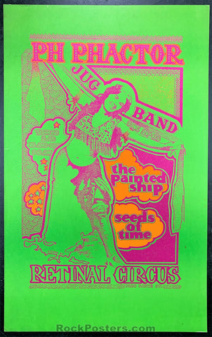 AUCTION - Vancouver - P.H. Phactor Poster - Retinal Circus - Condition - Very Good