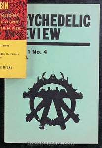 AUCTION - LSD - The Psychedelic Review Vol. 1 No. 4 Psychedelics & the Law 1964 Journal - Condition - Near Mint Minus