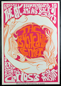 AUCTION - San Francisco - Psychedelic Center 1966 Poster - Carlos's - Condition - Near Mint