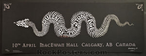 AUCTION - Emek - QOTSA Calgary '05 - Black 1st Edition Silkscreen - Condition - Mint