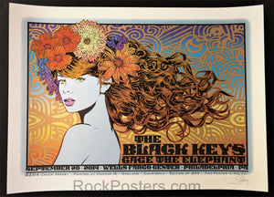 AUCTION - Chuck Sperry - Black Keys Philadelphia '14 - Show Edition - Mint