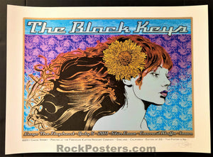 AUCTION - Chuck Sperry - Black Keys Council Bluffs '11 - 1st Edition - Mint