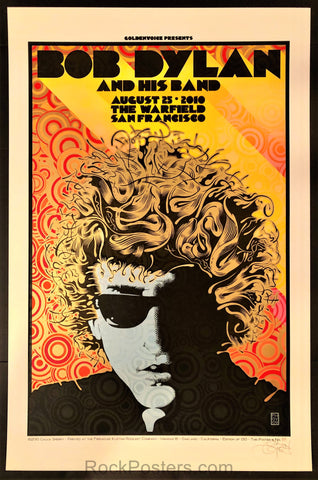 Chuck Sperry - Bob Dylan - The Warfield San Francisco 2010 - Mint
