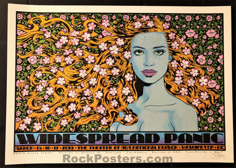 AUCTION - Chuck Sperry - Widespread Panic Washington D.C. '19 - Artist Edition - Mint