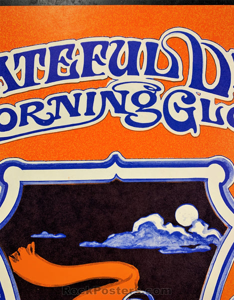 AUCTION - AOR 3.29 - Grateful Dead Trip & Ski 1968 Poster - Lake Tahoe - Condition - Near Mint