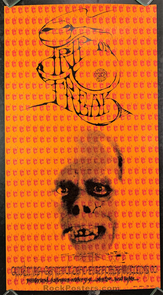 AUCTION - AOR 2.183 - Trip or Freak Grateful Dead Mouse Signed 1967 Poster - Condition - Near Mint Minus