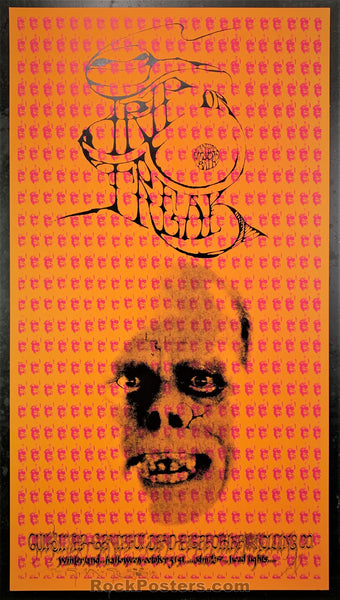 AUCTION - AOR-2.183 - Trip Or Freak 2nd Print Poster - Mouse & Kelley Signed - Winterland - Near Mint Minus