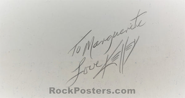 AUCTION - BGP - Paul McCartney & Wings 1976 Poster - Alton Kelley Signed - Cow Palace - Condition - Excellent