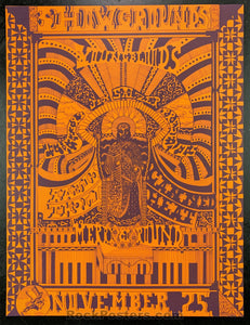 AUCTION - AOR3.47 - Youngbloods Canned Heat 1967 Poster - Earl Warren Showgrounds - Condition - Near Mint Minus