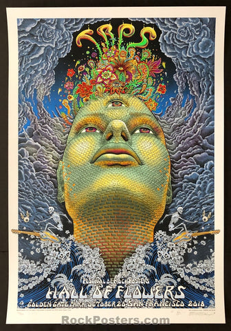 AUCTION - Emek TRPS  - 20th Anniversary San Francisco '18 Silkscreen Poster - Condition - Mint