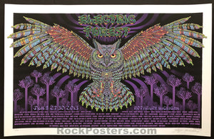 AUCTION - Emek Electric Forest -  Rothbury Festival '13 Silkscreen Artist Edition of 100  - Condition -  Mint