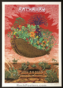 AUCTION - Emek Rothbury -  Festival '09 Bob Dylan The Dead RARE Silkscreen Apocalypse Edition of 25 - Condition - Mint