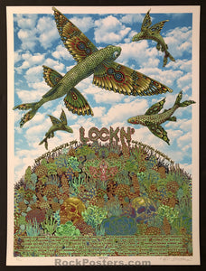 AUCTION - Emek - Lockn' Festival '16 Phish Silkscreen - Condition - Mint