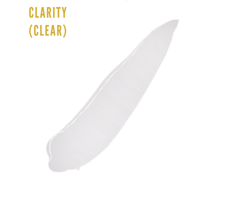 CLARITY- clear gloss 3 for $27