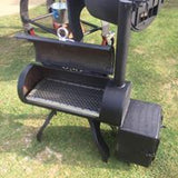 The Bambino - Reverse Flow Offset Smoker - An awesome way to Smoke on the GO!