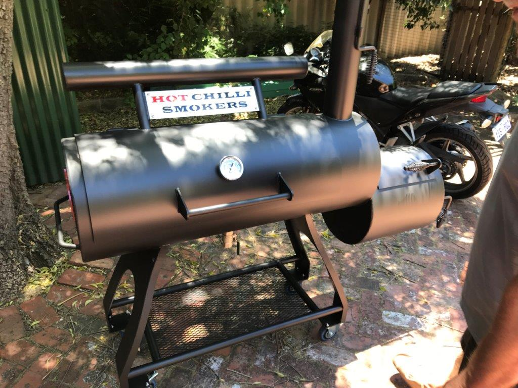 The 400 Chev - Reverse Flow Offset Smoker - Family Sized