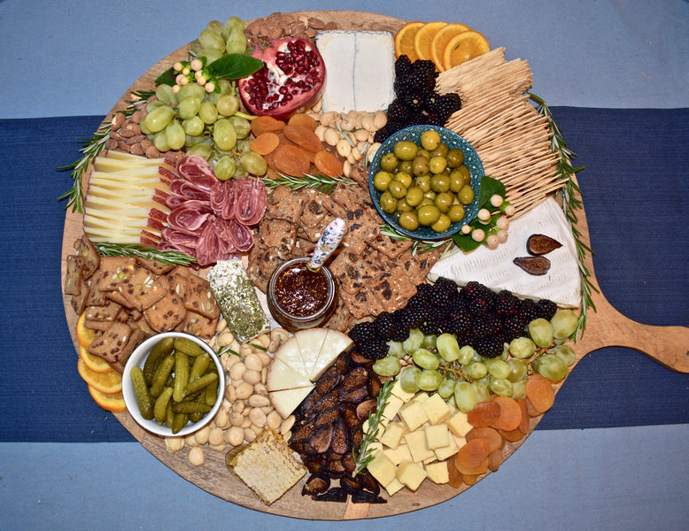 Crafting A Beautiful Cheeseboard