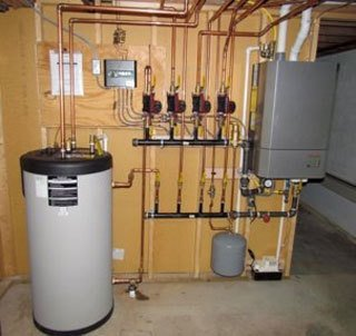 Electric Tankless Hot Water Heater New Install